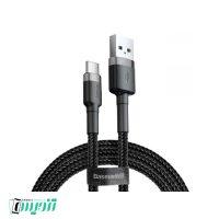 کابل تبدیل USB به USB-C باسئوس مدل CATKLF-CG1 Cafule طول 2 متر